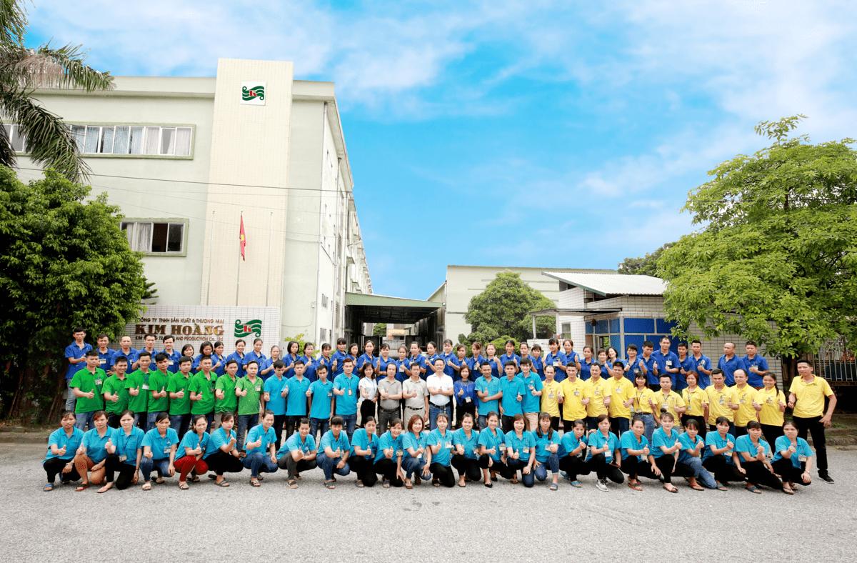 Đội ngũ cán bộ nhân viên công ty Kim Hoàng